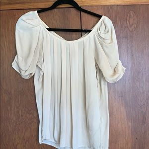 Joie silk blouse with back bow